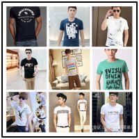 杂款服装 男士夏季 2014新款大码男式短袖T恤 便宜库存清仓处理
