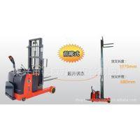供应-前移式电动堆高车 门架伸缩臂电动叉车 货物装卸车