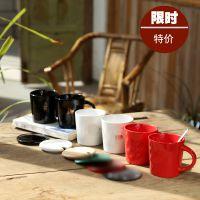 星巴克via速溶咖啡杯 2012随行杯 创意陶瓷杯子 水杯可定做logo