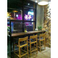 厂家供应上海现代简约咖啡厅椅子咖啡厅实木椅子定制