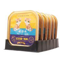 浦力顿 猫罐头 100g*6盒 猫湿粮三文鱼鸡肉宠物猫零食