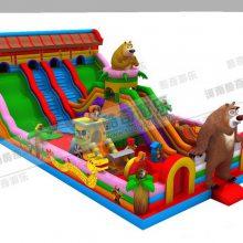 儿童气垫气包价格、儿童游乐园充气玩具游乐设备