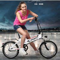 厂家直销20寸碟刹折叠锂电池电动自行车 36v10a电动自行车
