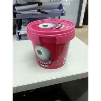 供应1.2L塑料桶 PP糖果桶 食品包装桶 曲奇饼干桶 精美高档包装桶 现货