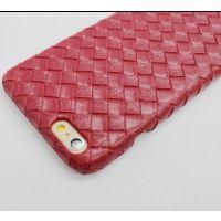 款iphone6 Plus编织纹手机壳 苹果5S皮纹手机套 iphone6外壳