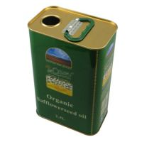 2.5L红花籽油铁罐 红花籽油铁罐厂 食用油金属包装