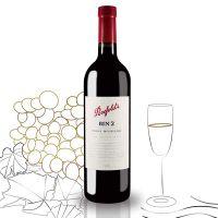 澳洲原瓶进口 奔富酒园BIN2设拉子穆维多红葡萄酒750ml