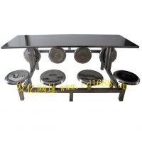 304不锈钢食堂餐桌椅,单位食堂餐桌椅,快餐桌椅,四川快餐桌厂家