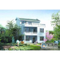 M1007新农村三层带露台自建房设计图纸,农村房屋设计图