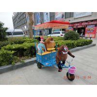 内蒙古热卖机器人蹬车、黑河游乐GLYL-J1机器人蹬车