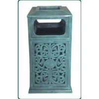 批发 铸铝古典高档别墅小区户外垃圾桶 果皮桶 垃圾箱