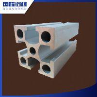 国耀铝材厂家批发国标铝合金型材4040阳极氧化6063铝合金、机架铝型材、设备框架铝材