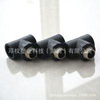 HDPE是什么意思 PE管是什么材料 黑色PE管配件外丝三通批发行情
