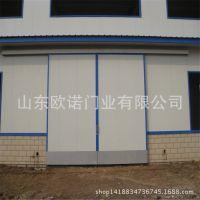 【专业生产】工厂推拉门 电动厂房彩钢平移烤漆轻型重型推拉门