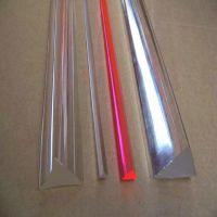 厂家直销 供应亚克力三角棒,有机玻璃透明棒 彩色棒 可定制