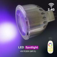 RGBW智能射灯分组遥控LED灯2.4RF手机遥控天花灯室内照明灯LED