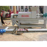 天镇县鸡粪脱水机,鑫泉机械(图),鸡粪脱水机高品质