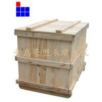 木质包装箱厂家直销定制尺寸熏蒸松木出口木箱价格