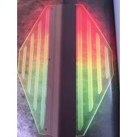 供应中为6063七彩导光板 LED照明 激光导光板