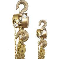 厂家直销优质HBSQ型纯铜防爆手拉葫芦和不锈钢材质质量保证现货 联系电话 13832282638