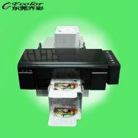 东莞齐彩 PVC白卡打印机 T50 L800改装设备 PVC彩色证卡打印机