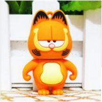 厂家供应创意u盘16g卡通可爱加菲猫u盘32G个性小黄人优盘随身碟USB定制logo