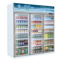 饮料柜冰柜,便利店系列—三门展示柜