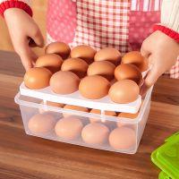 双层鸡蛋保鲜盒 家用便携收纳盒 冰箱多用创意储存盒 厨房工具395