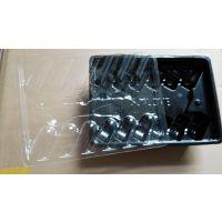 无锡真辉吸塑带盖托盘PS工业透明吸塑包装盒PP透明吸塑包装制品脆盘