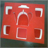 世源定做 EVA茶具 工艺品等易碎品防护包装固定防震内衬盒