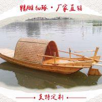 休闲木船 乌篷船 手划装饰船 仿古旅游船 观光船 客船