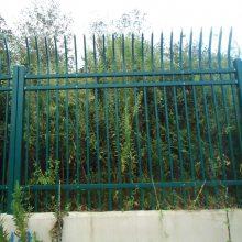 学校围墙防护栏杆规格 佛山锌钢防护栏 围墙铁栏杆包安装 不锈钢