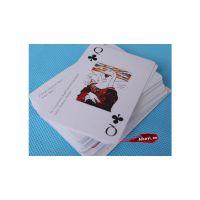 广州艾克依PVC透明扑克牌设计印刷制作_塑料防水扑克牌直接定做厂家