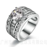 生产加工925银男士戒指纯银欧美大牌首饰定制纯银男戒