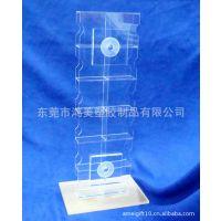 【厂家定做】有机玻璃CD摆放架 透明亚克力陈列架 压克力书架制作