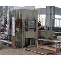 三聚氰胺模压门板热压机等成套设备-青岛国森