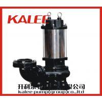 上海开利KWQJ型号搅匀污水泵、搅匀排污泵、搅匀潜污泵