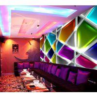 酒店KTV墙纸定制 主题3d工程壁画厂家 酒吧立体三维壁布