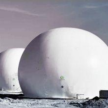 污水处理项目可燃气体回收利用专用双膜气柜 污水项目沼气回收 青岛宸一环境