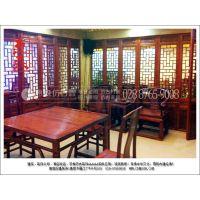 惠森古建来图定制中式仿古家具、中式家装、火锅店仿古用品