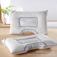 床上用品 批发 弧形保健磁疗枕多功能药包枕 决明子磁疗枕代发货