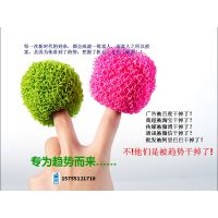 全球首创可替代钢球的彩色涤纶纤维清洁球生产厂家格