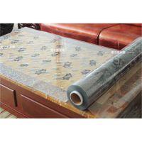 彩色桌布透明软质玻璃防水餐桌台布塑料桌垫免洗水晶板防油茶几垫