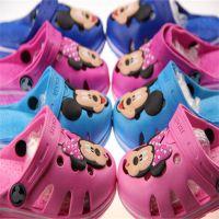 2015夏季儿童拖鞋 洞洞鞋 花园鞋 卡通果冻鞋 男女童鞋 米奇批发