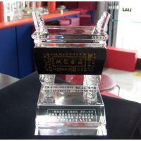 深圳水晶鼎生产厂家,哪里可以定做水晶鼎礼品,周年纪念品定做