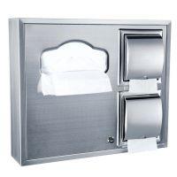 组合式坐厕纸箱 304不锈钢洗手间坐便纸巾架 明暗装可选 批发包邮