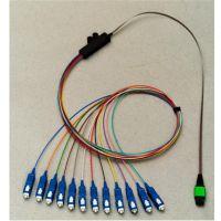 江帆通信 光纤分支器 带状分支器闭口 皮线光缆保护盒
