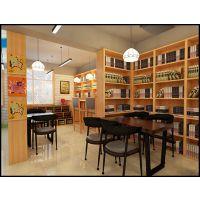 苏州咖啡厅|图书馆|茶水吧|装修设计枫雅让店铺升级
