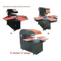 厂家供应流水线四工位印花机器设备转印机 升华热转印面料印花机