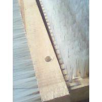供应各种材料毛刷条,木柄木头毛刷子,工业除尘抛光条刷 可定做
